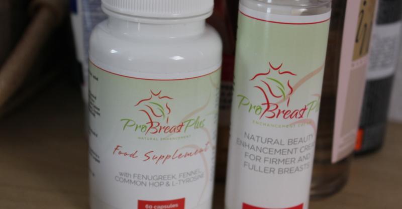 powiększenie biustu tabletki