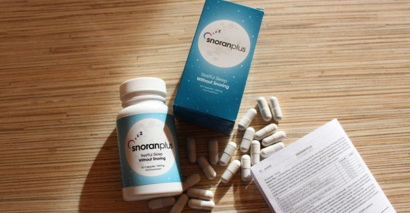 skuteczne środki na chrapanie - Snoran Plus