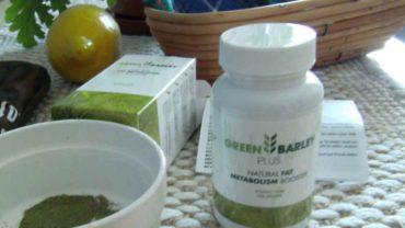 zielony jęczmień w kapsułkach Green Barley Plus