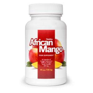 african mango, leptyna w tabletkach