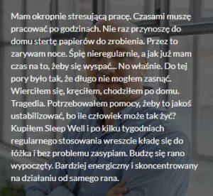 sleep well opinie 1